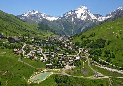 De beklimming van Les 2 Alpes