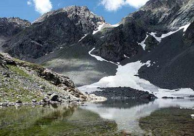 Lac de Belledonne par la cabane du Chazeau