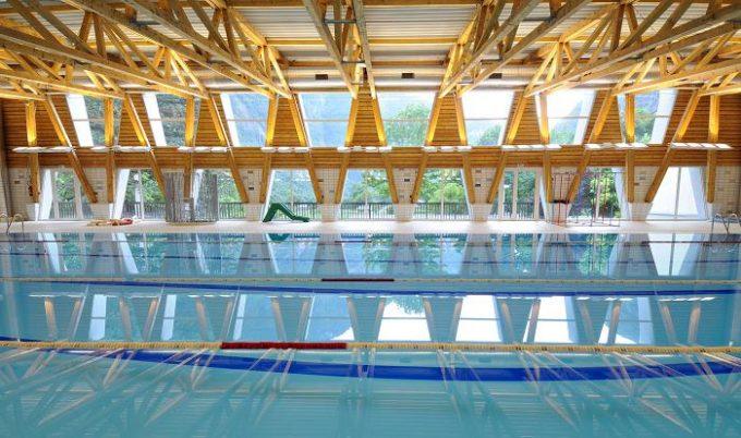 La piscine municipale de Gavet