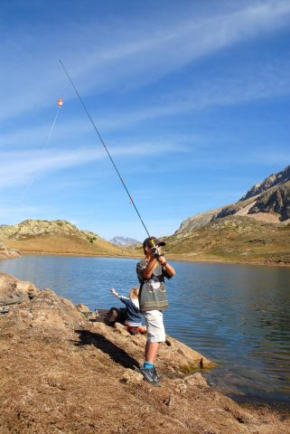 Pêche en montagne