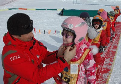 Skilessen bij de Franse skischool